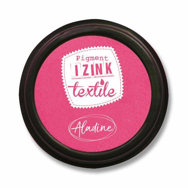 Razítkovací polštářek Izink Textile růžová