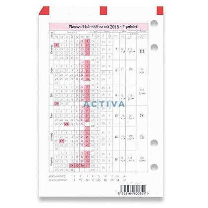 Obrázek produktu ADK - plánovací kalendář 2018 - A5