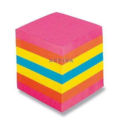 Obrázek produktu Notes - poznámkový bloček - 9×9×9 cm, barevný