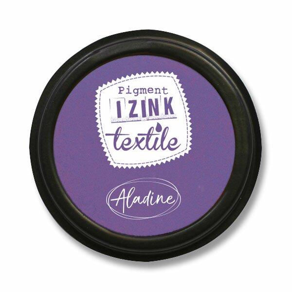Razítkovací polštářek Izink Textile fialová
