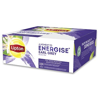Obrázek produktu Černý čaj Lipton Earl Grey - 100 sáčků