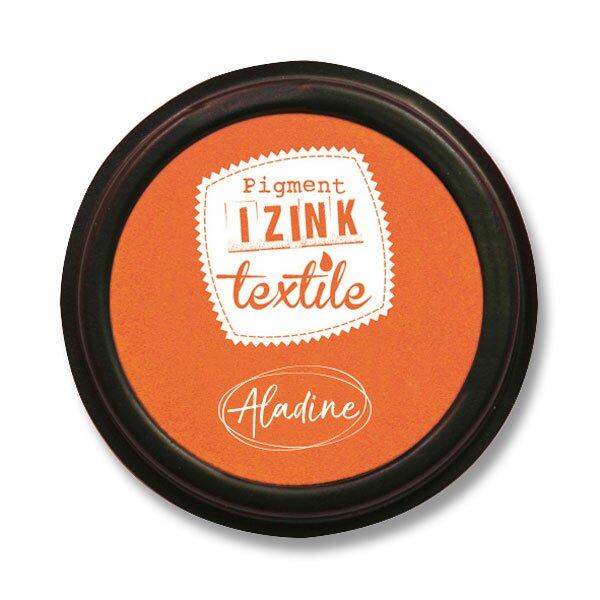 Razítkovací polštářek Izink Textile oranžová