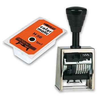Obrázek produktu Profesionální číslovačka Horray H56 - 6 míst