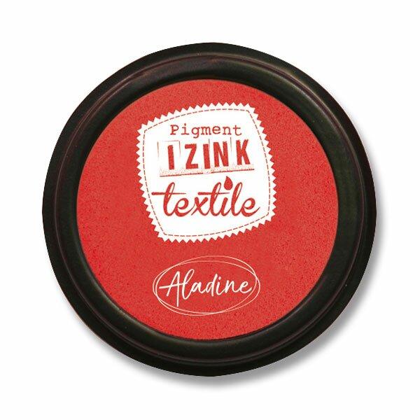 Razítkovací polštářek Izink Textile červená