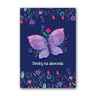 Obrázek produktu Desky na abecedu Motýl