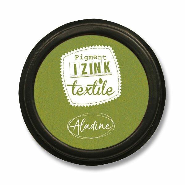 Razítkovací polštářek Izink Textile zelená