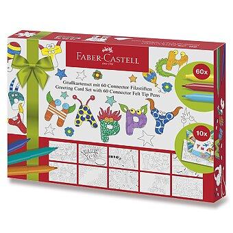 Obrázek produktu Dětské fixy Faber-Castell Connector - 60 barev