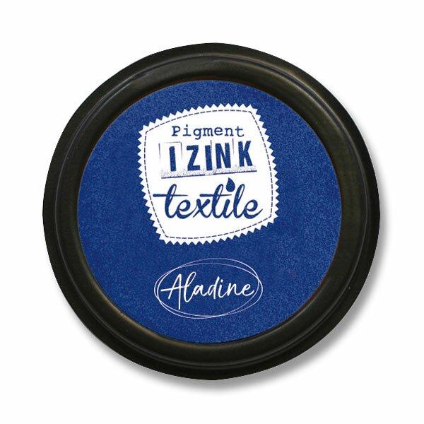 Razítkovací polštářek Izink Textile tmavě modrá