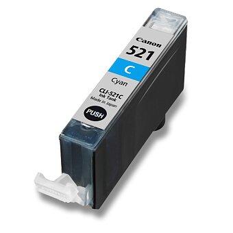 Obrázek produktu Cartridge Canon CLI-521  pro inkoustové tiskárny - cyan (modrá)