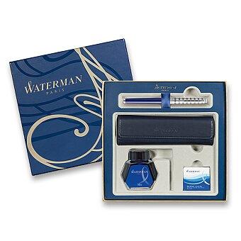 Obrázek produktu Waterman Hémisphère Deluxe Blue Lounge - plnicí pero, dárková sada s pouzdrem a inkoustem