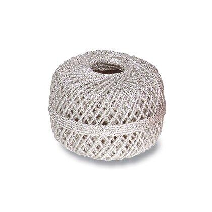 Obrázek produktu Clairefontaine Cords - dárkový provázek - stříbrný