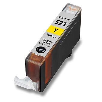 Obrázek produktu Cartridge Canon CLI-521  pro inkoustové tiskárny - yellow (žluá)